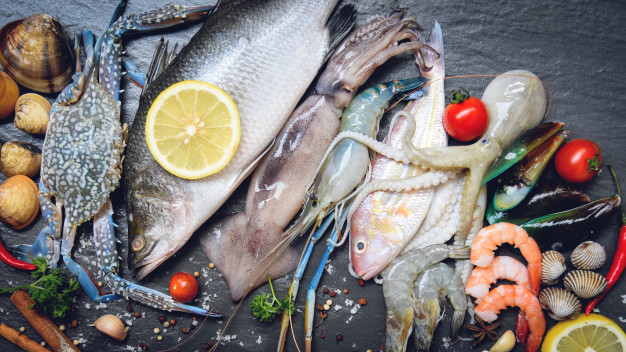 seafoods have also umami flavour